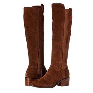 LIKE NEW Steve Madden Giselle Chestnut Suede Boots